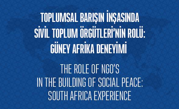 Güney Afrika Deneyimi Çalışmalarımız Kitaplaştı